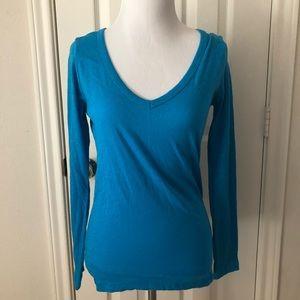 RL Sport Basic Long Sleeve Blue Top
